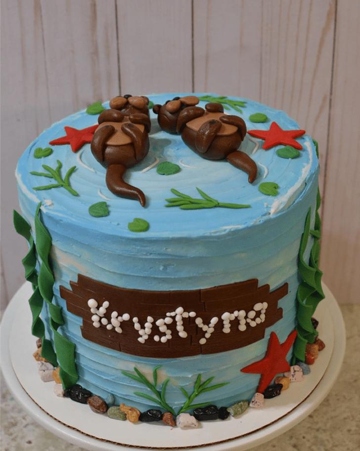 Exquisite Otter Cake