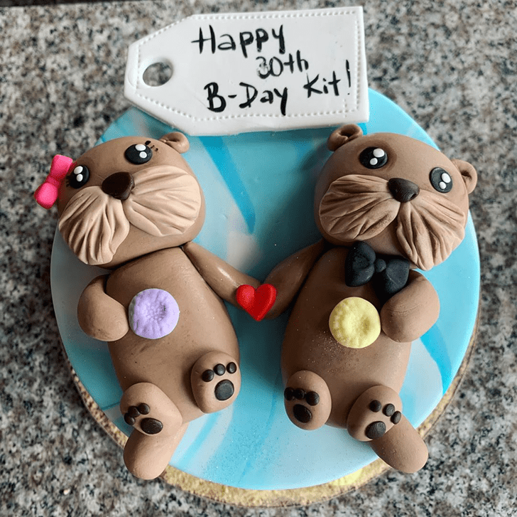 Fascinating Otter Cake
