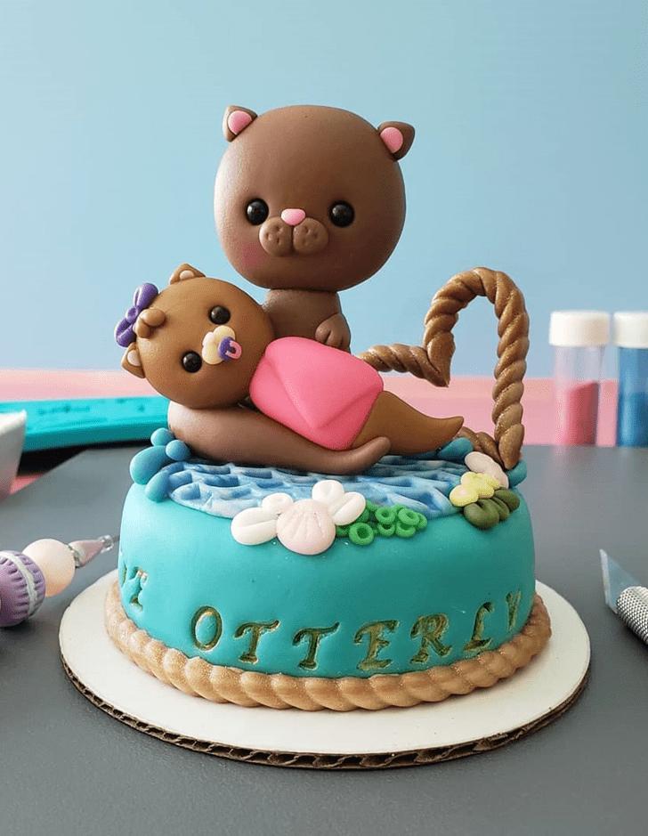 Fetching Otter Cake