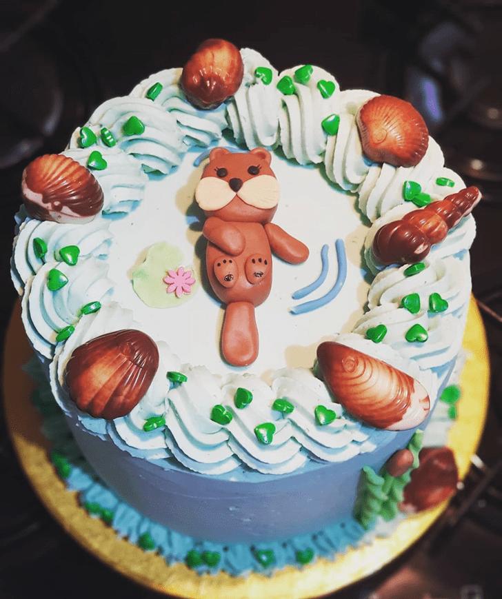 Fine Otter Cake