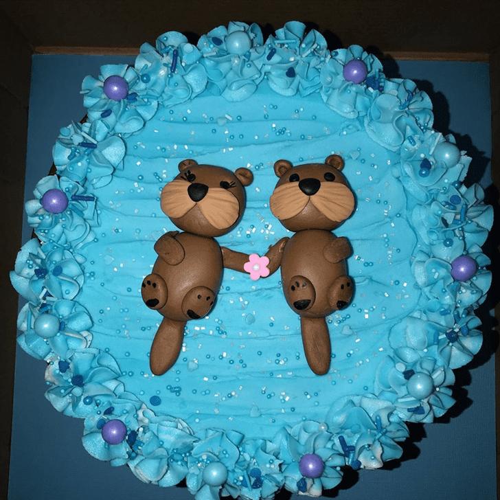 Gorgeous Otter Cake