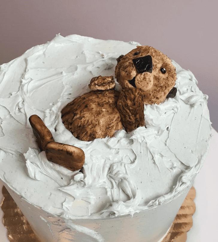 Graceful Otter Cake