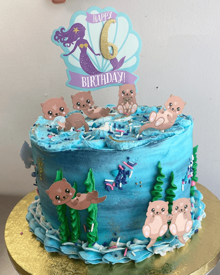 Magnificent Otter Cake