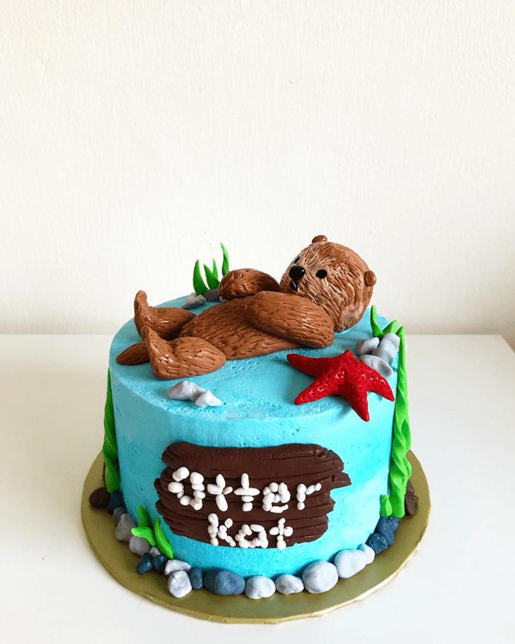 Marvelous Otter Cake