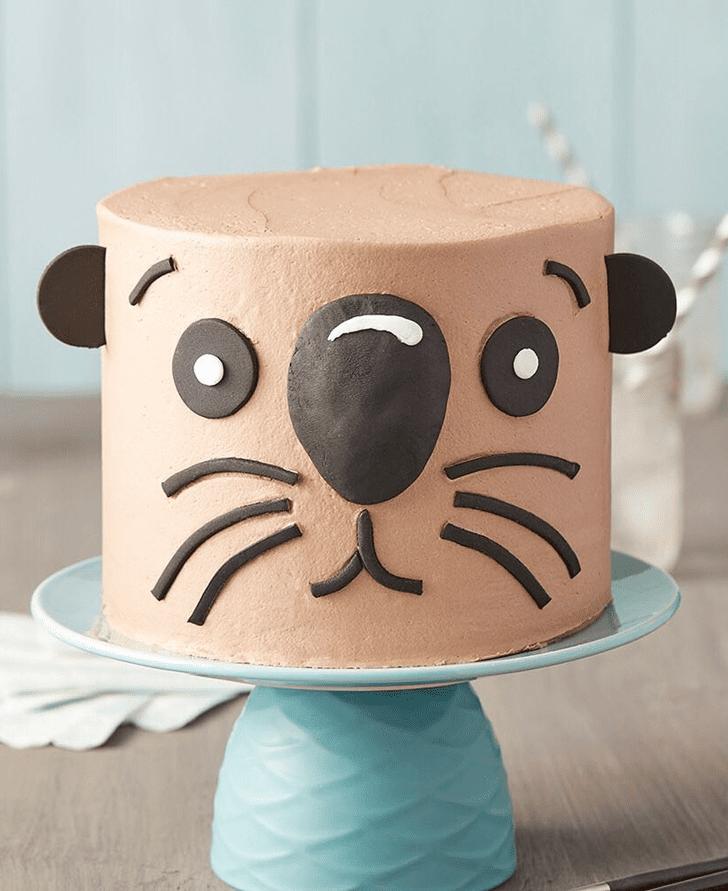 Pleasing Otter Cake
