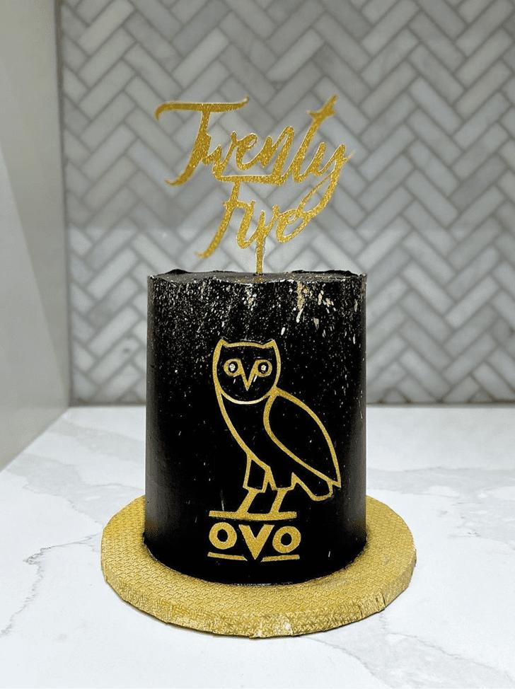 Angelic Owl Cake