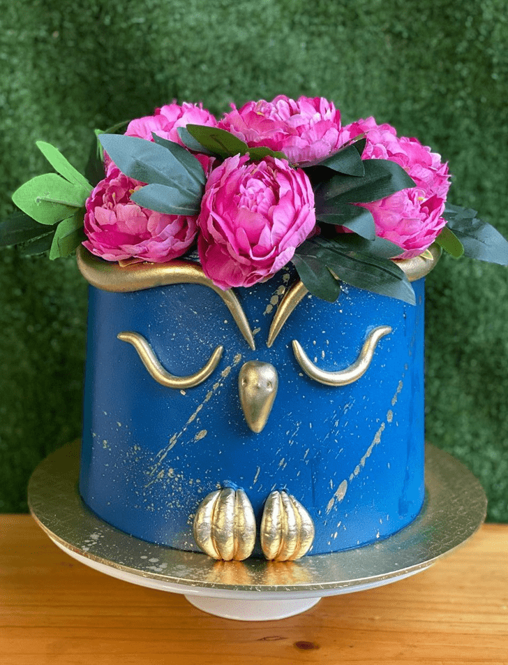 Beauteous Owl Cake