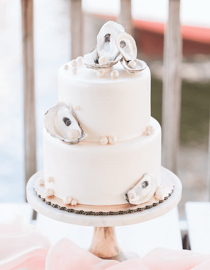 Admirable Oyster Cake Design