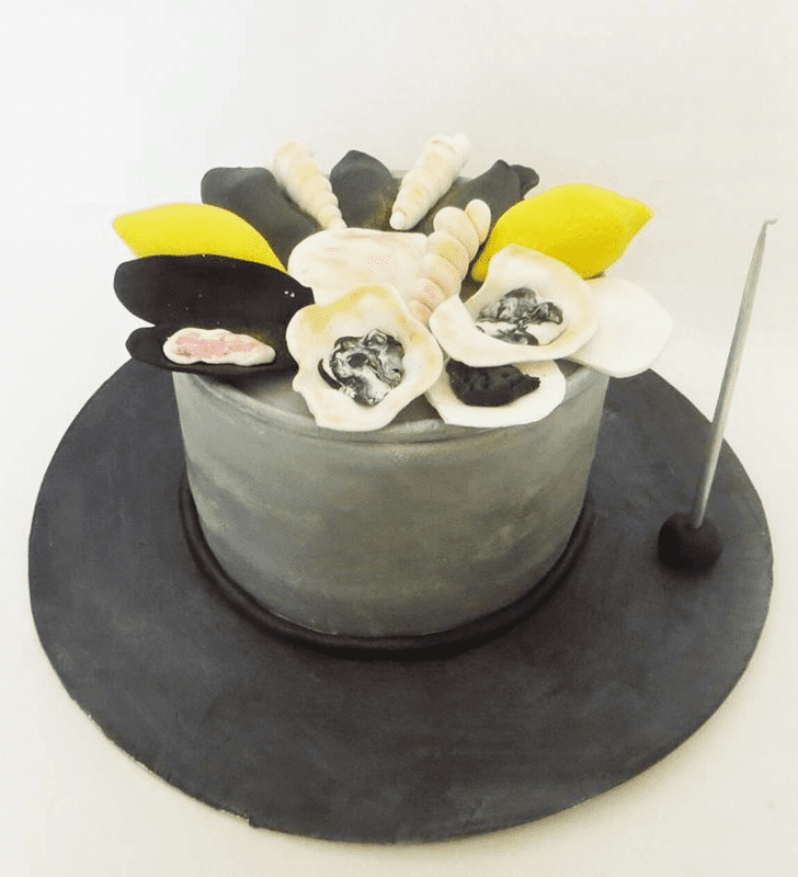 Cute Oyster Cake