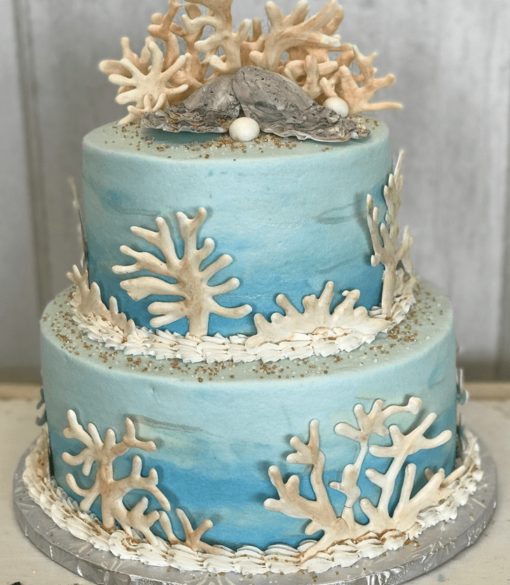 Delicate Oyster Cake