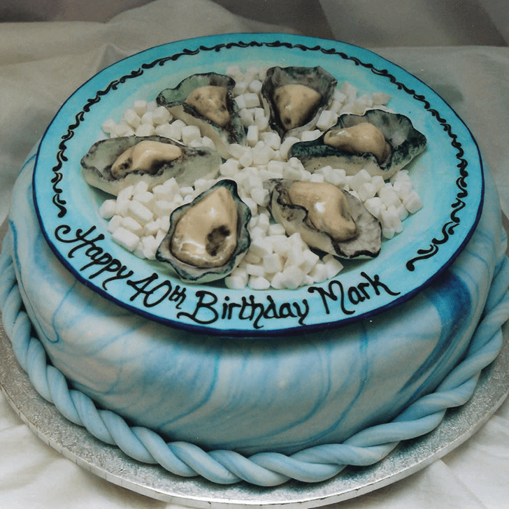 Grand Oyster Cake
