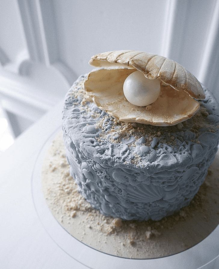 Inviting Oyster Cake