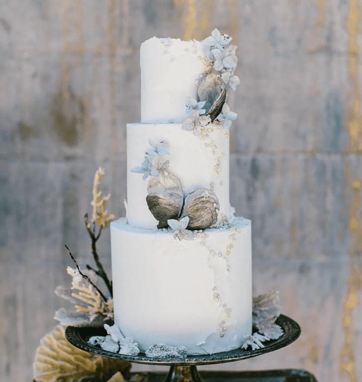 Lovely Oyster Cake Design