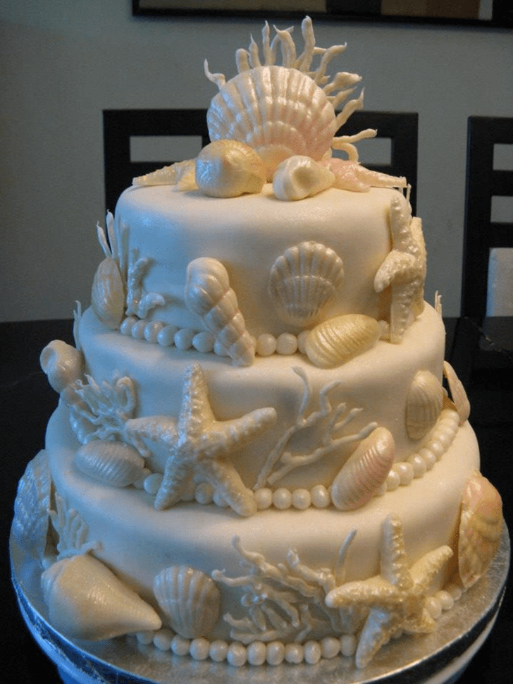 Mesmeric Oyster Cake