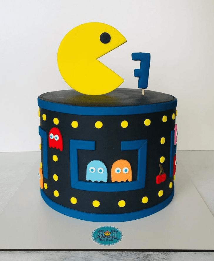 Admirable PacMan Cake Design