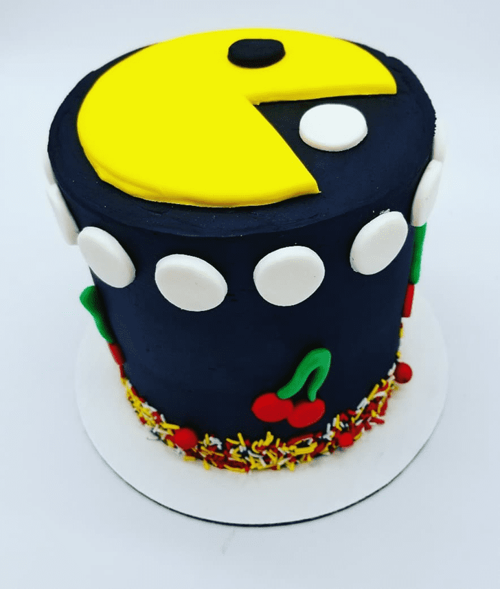 Adorable PacMan Cake