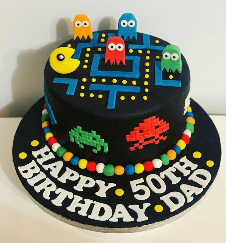 Appealing PacMan Cake