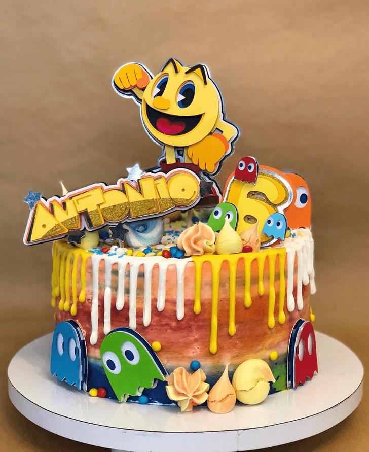 Beauteous PacMan Cake
