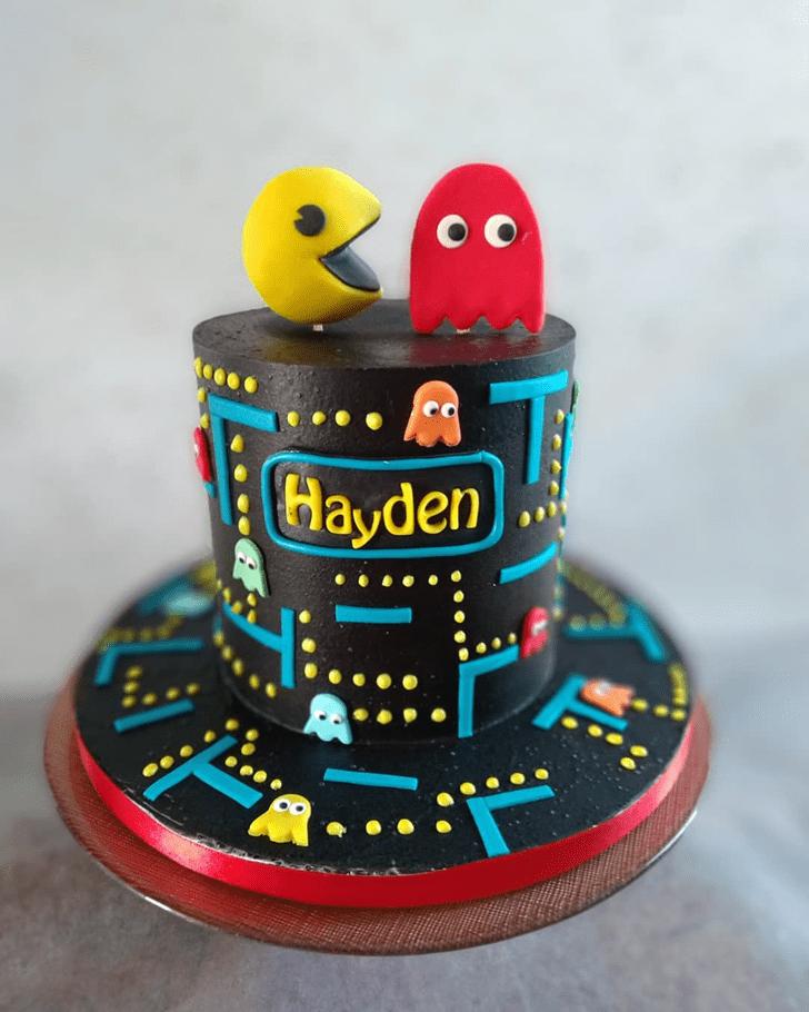 Bewitching PacMan Cake