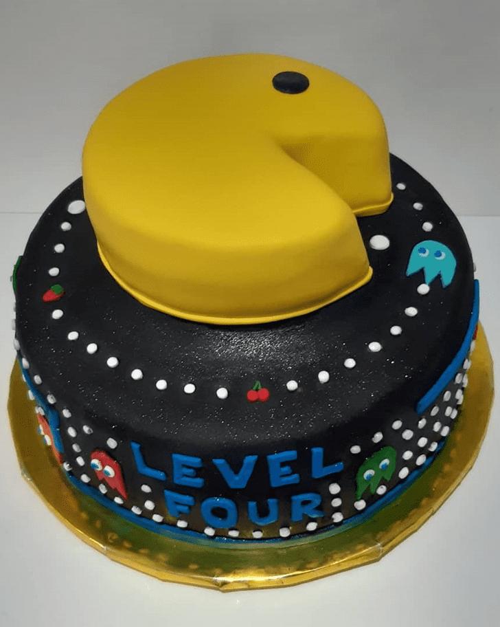 Dazzling PacMan Cake