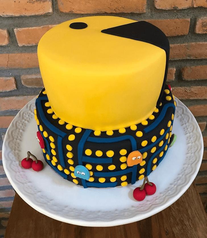 Delicate PacMan Cake