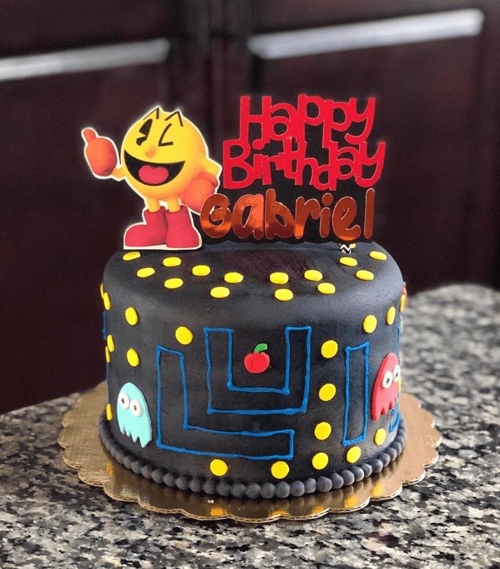 Divine PacMan Cake