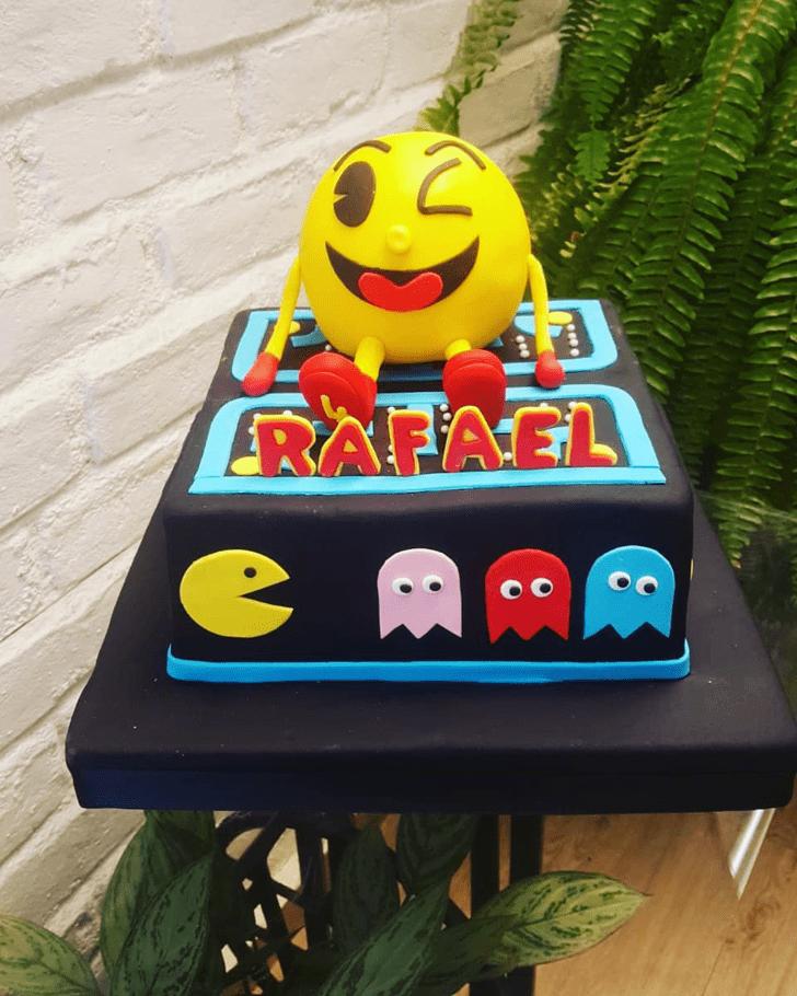 Elegant PacMan Cake