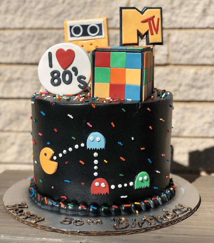 Enthralling PacMan Cake