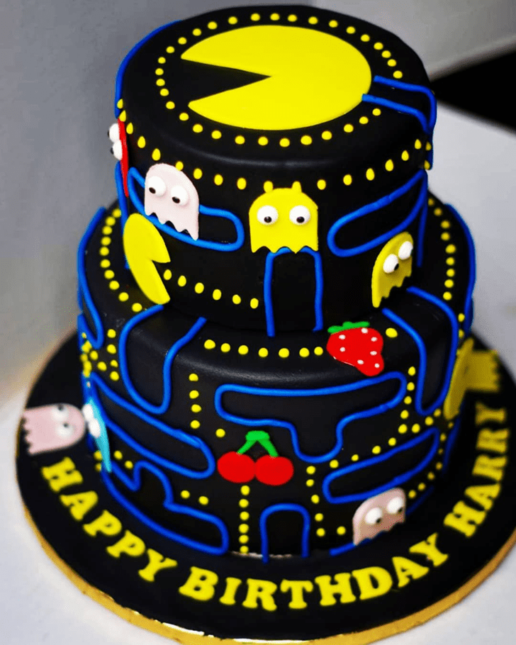 Exquisite PacMan Cake