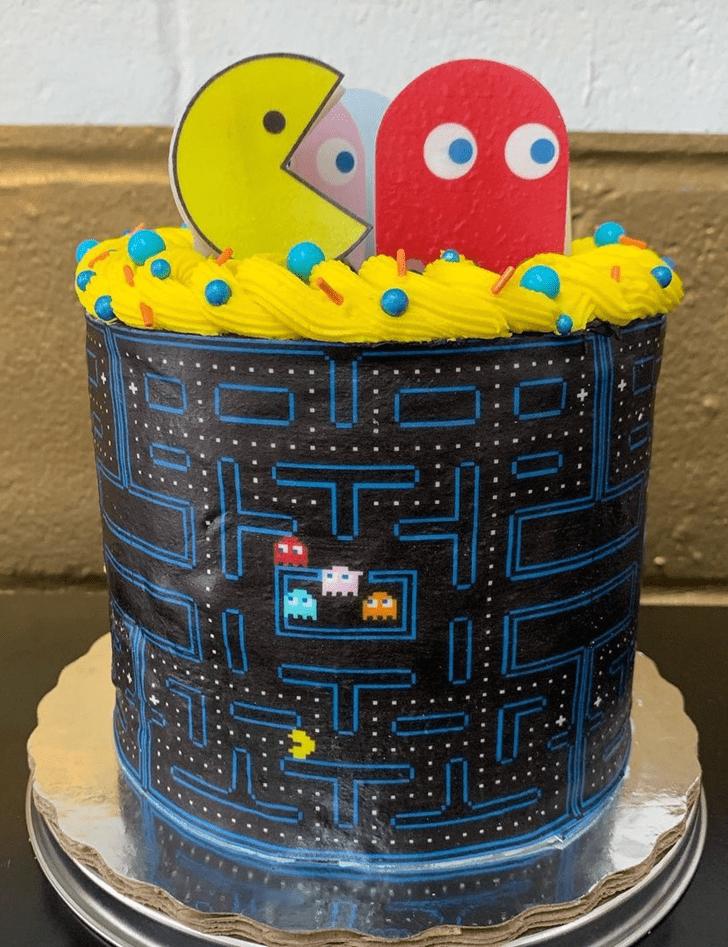Fine PacMan Cake
