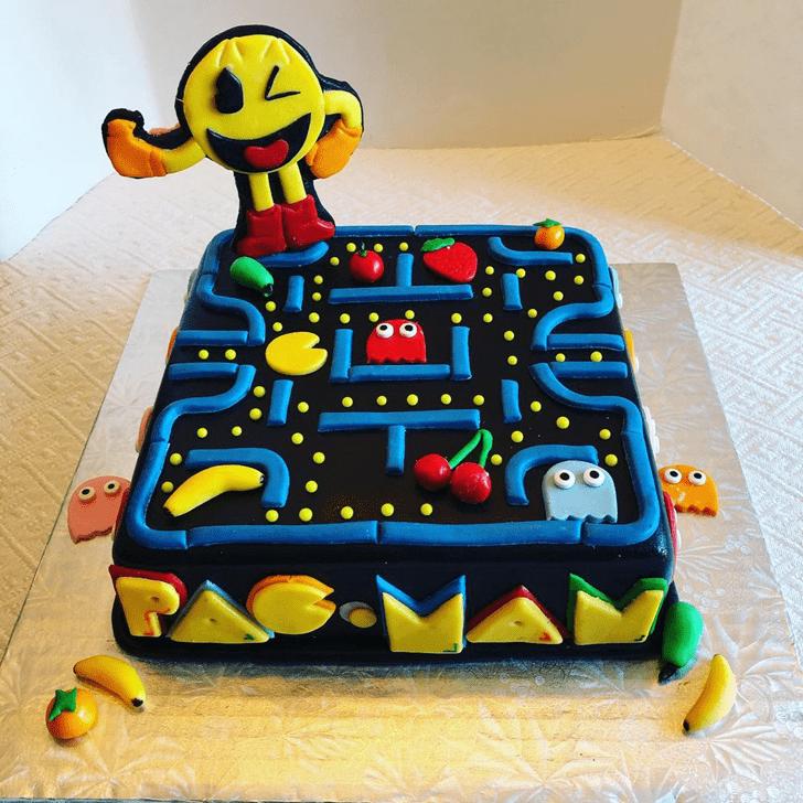 Good Looking PacMan Cake
