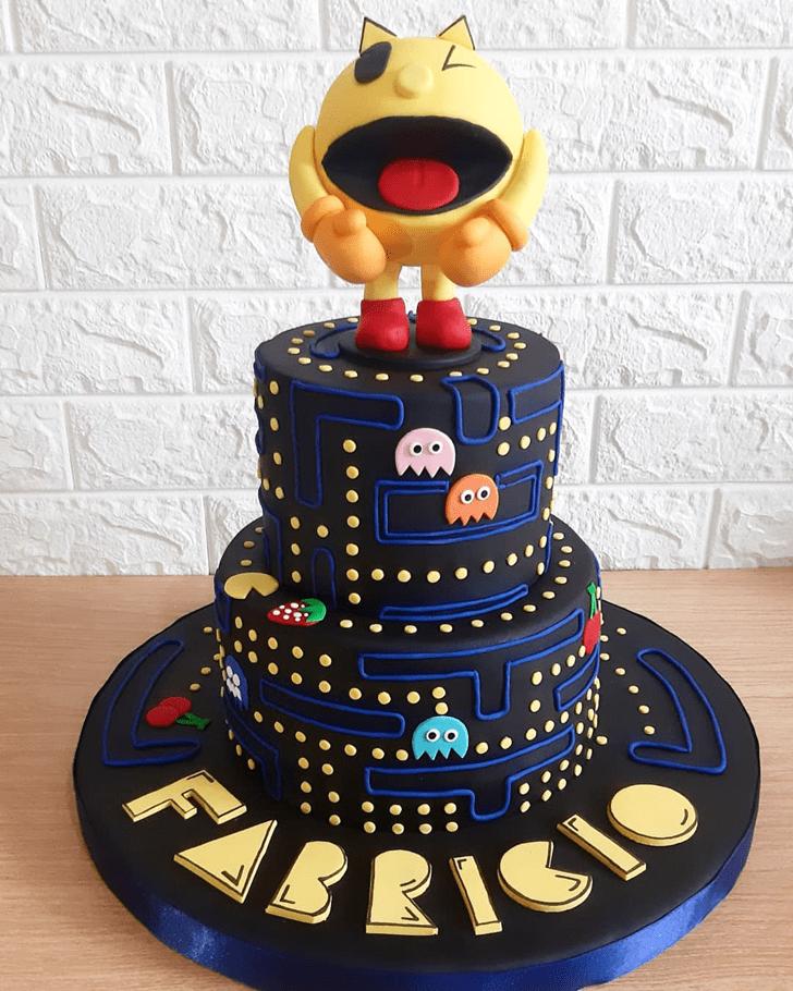 Graceful PacMan Cake