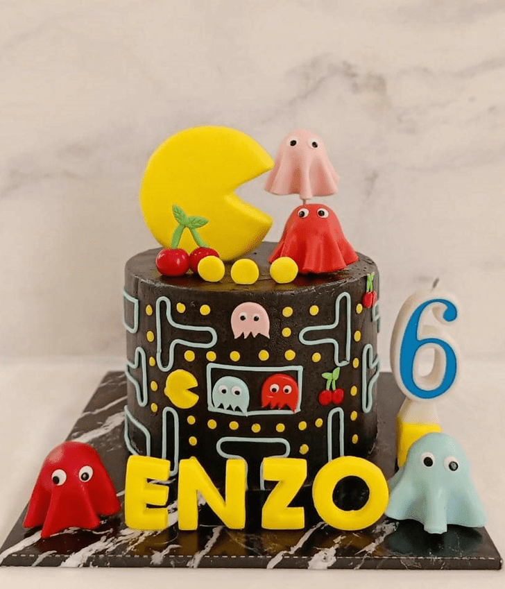 Ideal PacMan Cake