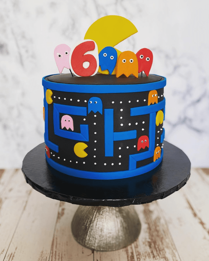 Magnetic PacMan Cake
