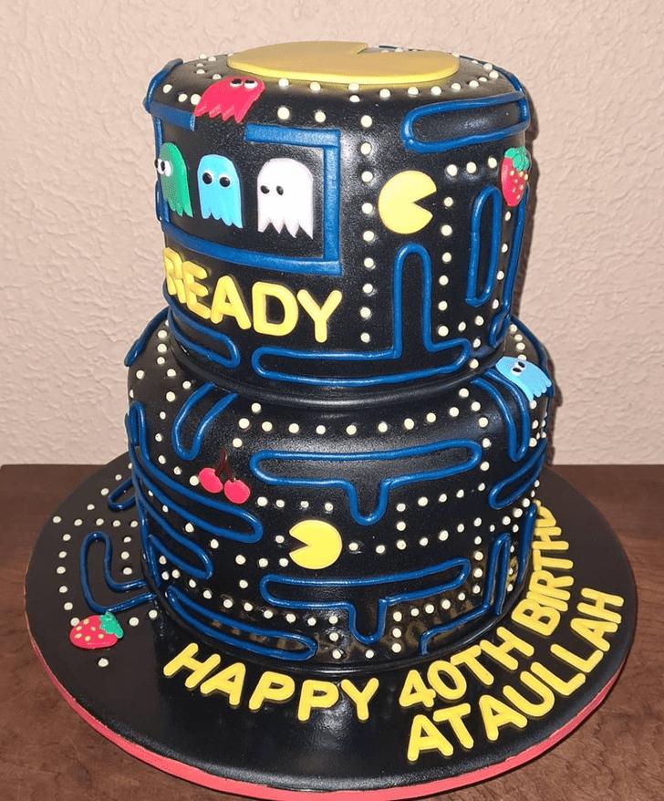 Magnificent PacMan Cake