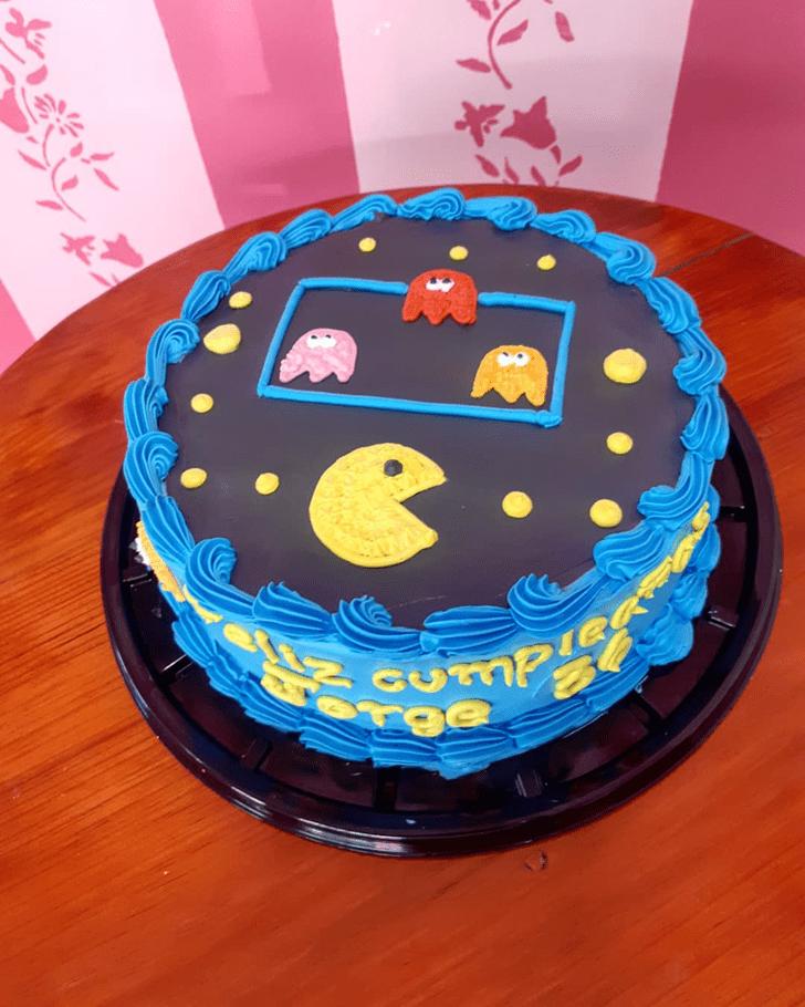 Mesmeric PacMan Cake