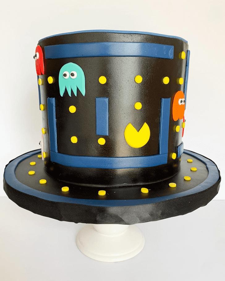 Radiant PacMan Cake