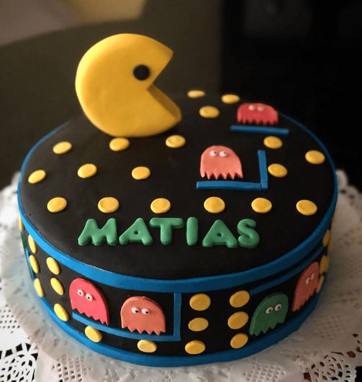 Refined PacMan Cake