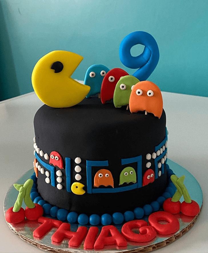 Resplendent PacMan Cake