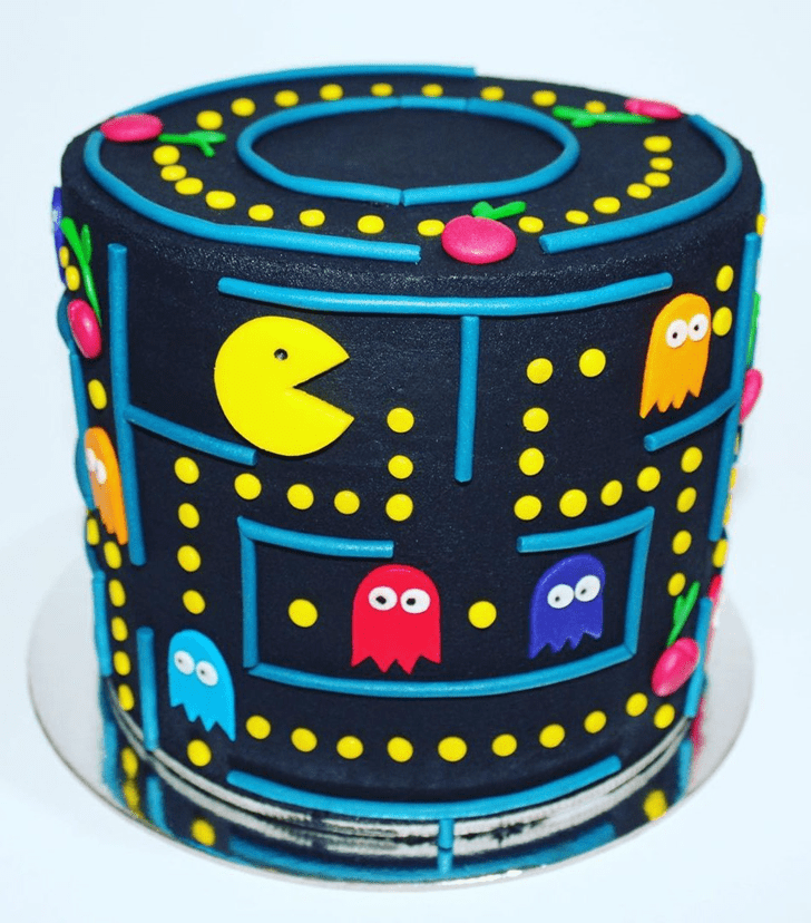 Shapely PacMan Cake