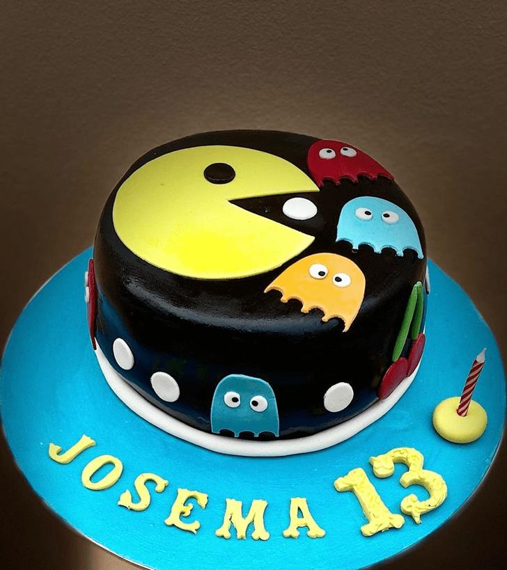 Stunning PacMan Cake