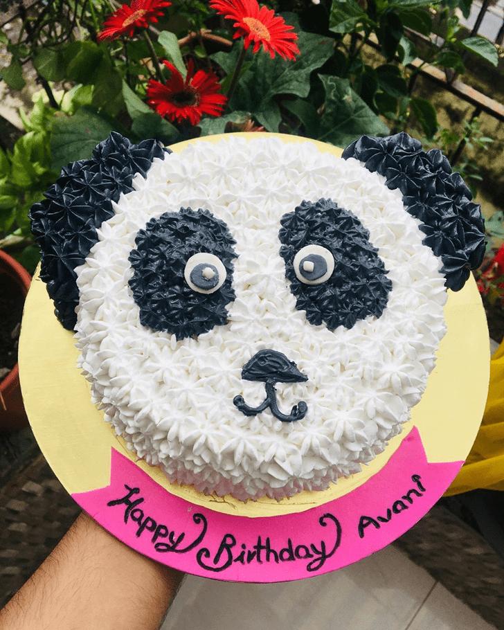 Admirable Panda Cake Design