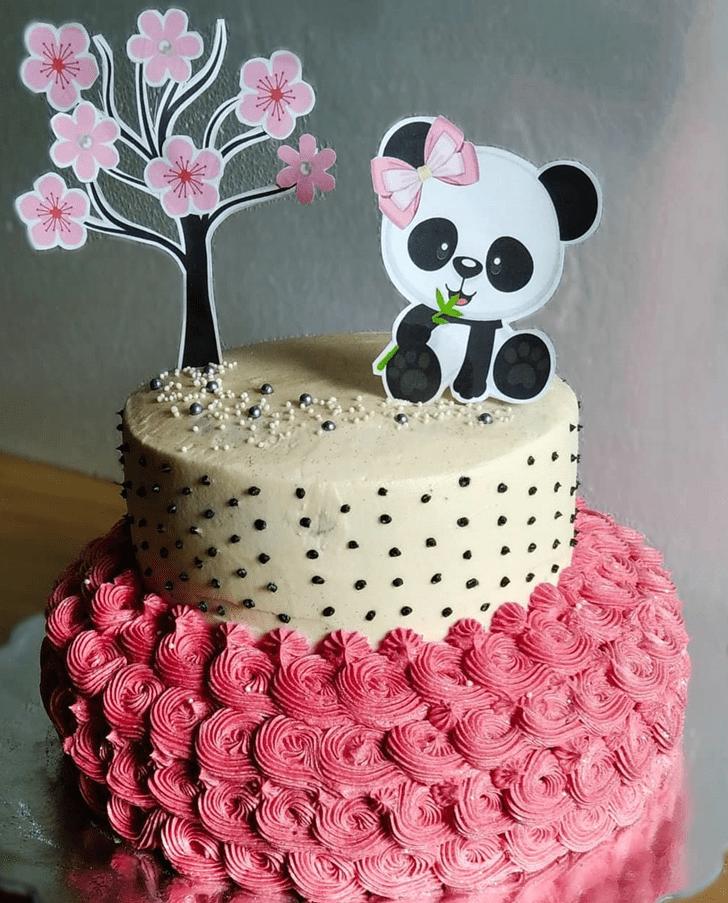Angelic Panda Cake
