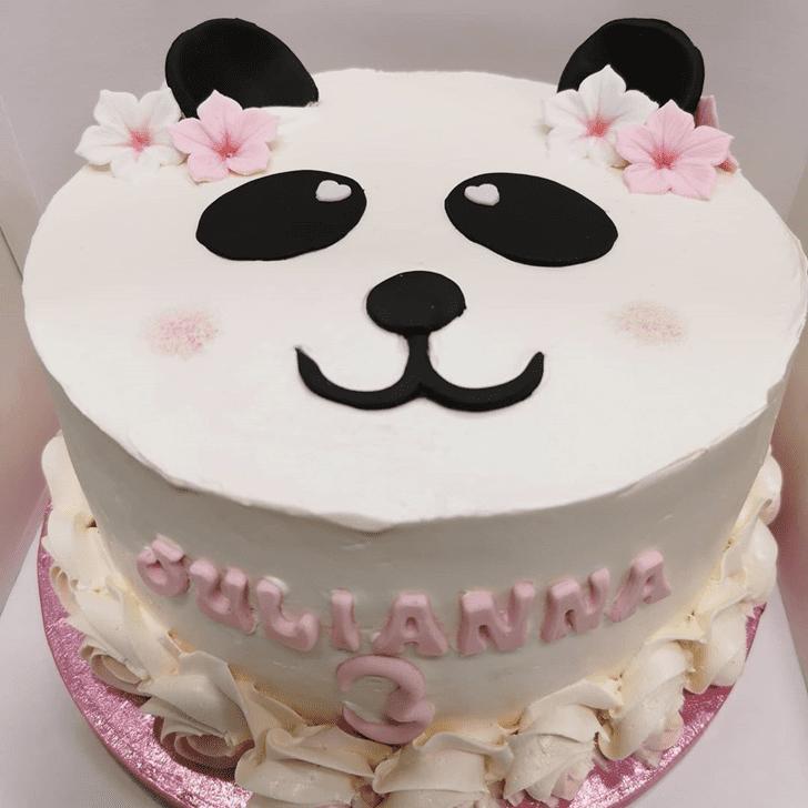 Bewitching Panda Cake