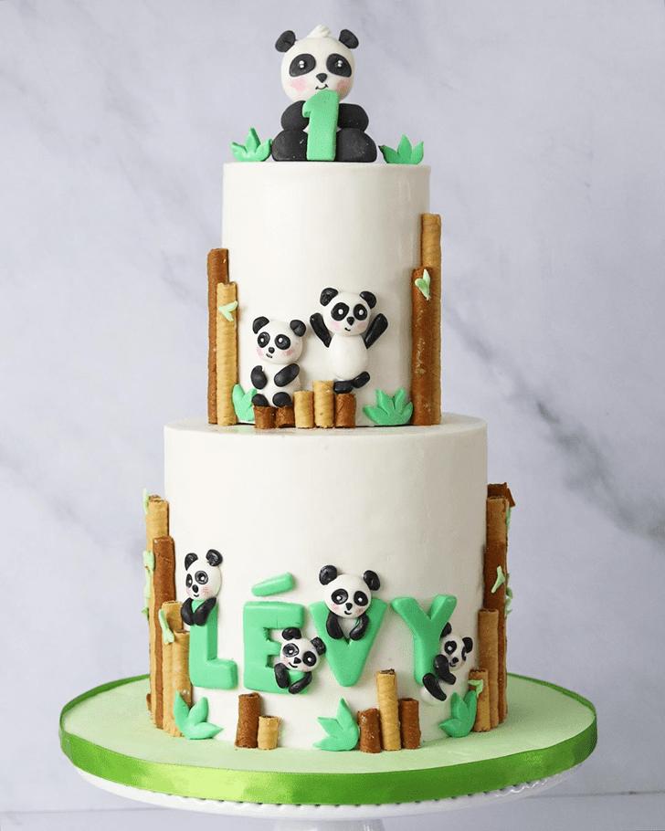 Captivating Panda Cake