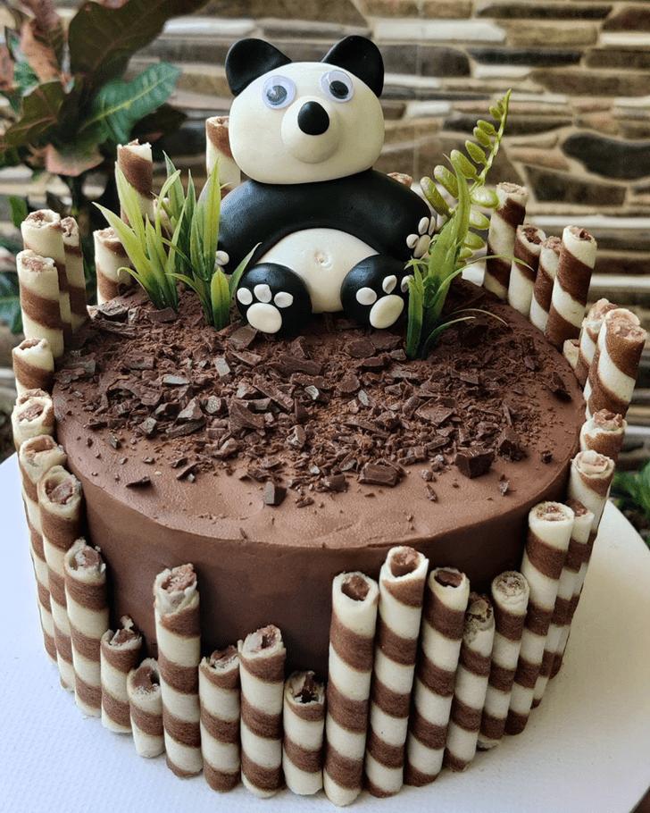 Charming Panda Cake