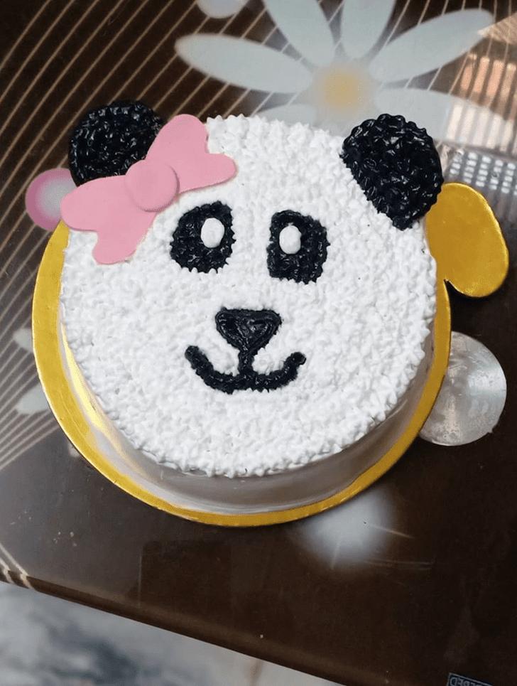 Dazzling Panda Cake