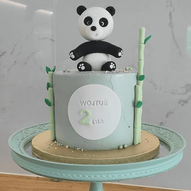 Divine Panda Cake
