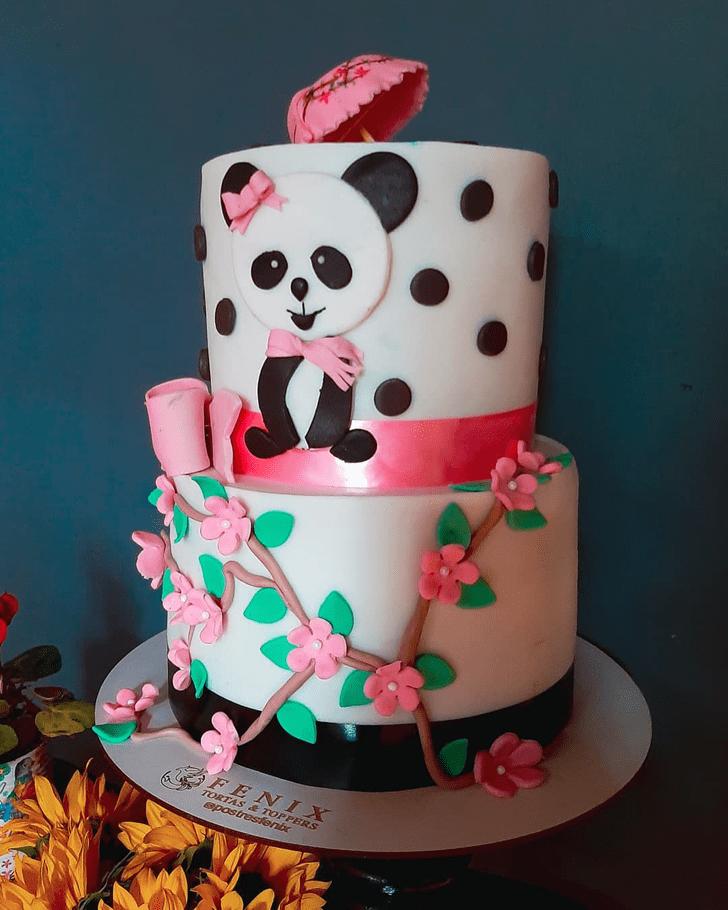 Excellent Panda Cake