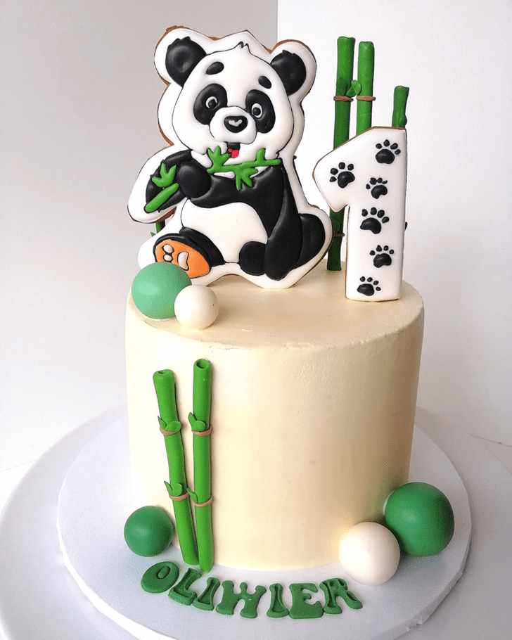 Exquisite Panda Cake